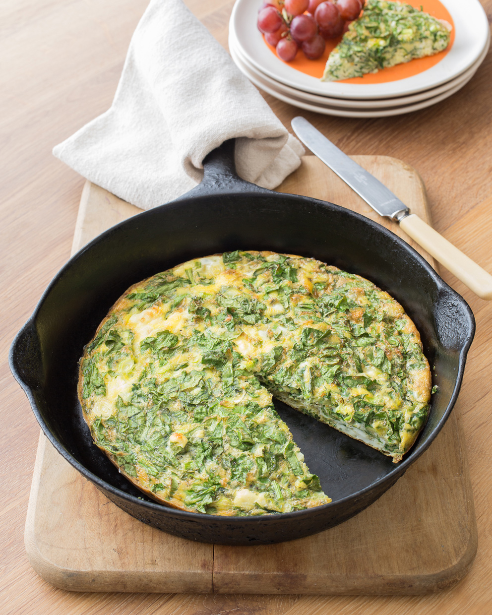 FrenchSpinachFrittata-10